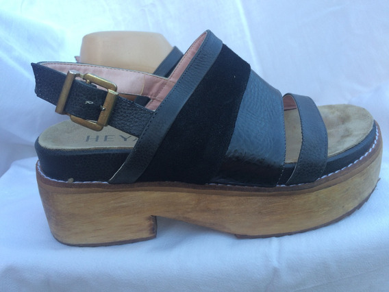 Sandalia Plataforma Heyas Nº 38 1001zapatos