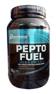Whey Protein Hidrolisado Pepto Fuel Morango Performance 909g