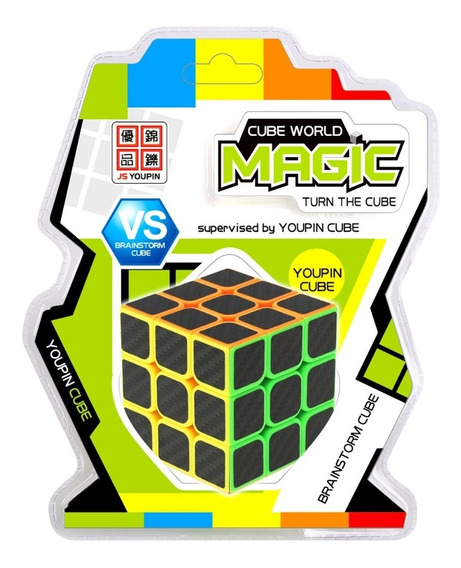 Cube World Magic Cubo Magico Colores Invertidos 3x3 Full