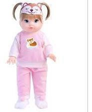 Boneca Hora Da Soneca Raposa Pijama E Com Acessórios