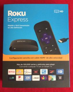 Roku Express | Transmisión Hd 5 Veces Más Potente Nuevas