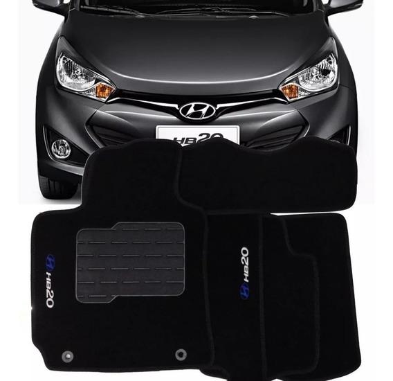 Jogo De Tapetes Carpete Específico Para Hyundai Hb20 2020