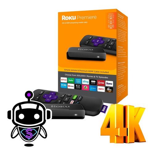 Roku Premiere 4k Convierte Tv Smart = Google Chromecast !!!