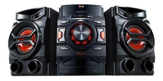 Mini System LG Cm4340 Com Cd, Mp3 , Dual Usb, Auto Dj