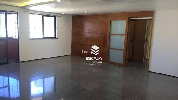Apartamento Com 3 Quartos À Venda, 140 M², Aceita Imóvel - Cocó - Fortaleza/ce - Ap1458