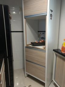 Armário De Cozinha Com Espaço Para Forno Elétrico