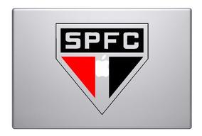Skin Adesivo Para Macbook Do São Paulo - Carro E Moto