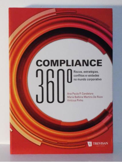 Livro Compliance 360° Ana Paula Candeloro