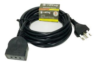 Extension Electrica Alargador 5mt Rittig Certificada