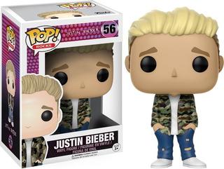Funko Pop Justin Bieber 56 Pop Rocks Coleccionable