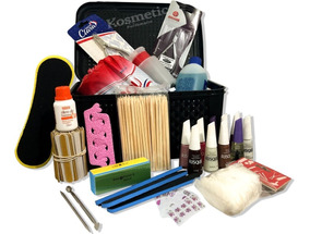 Kit Manicure Profissional Completo 20 Itens - Esmalte Lixa