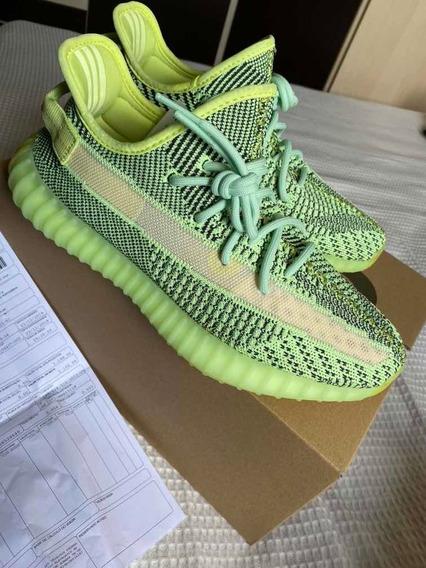 Tênis Sneakers Yeezy Boost 350 V2 Yeezreel 42br Frete Grátis
