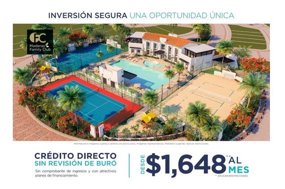 Lotes Residenciales En Mérida, Con 10 Mil Pesos De Enganche