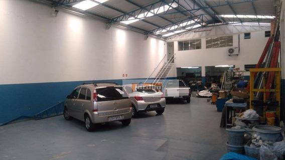Galpão Comercial Para Venda E Locação, Vila Pires, Santo André. - Ga0157