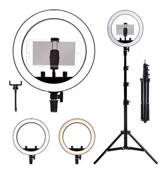 Ringligth Profissional Kit Tripe 2,20cm Iluminador Pro