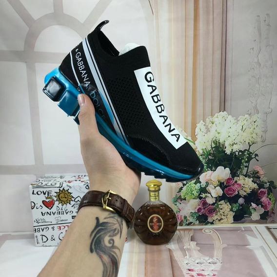 Tênis Dolce & Gabbana Sorrento Melt Solado Azul Unissex