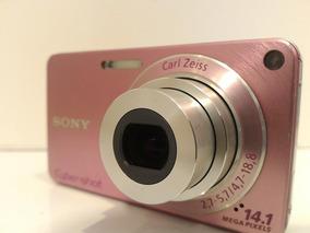 Câmera Sony Cybershot W350 14.1mp Com Zoom 4x