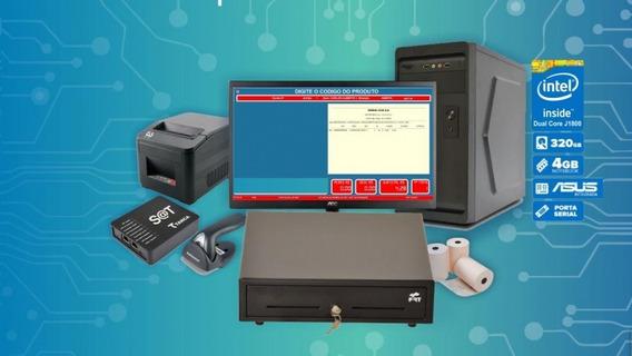 Pdv Completo Fiscal + Sat + Impressora + Sistema Grátis