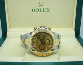 Rolex Daytona Aço E Ouro