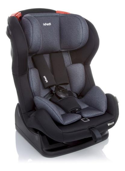 Nova Cadeirinha Para Automovel Maya Onix Cinza Infanti Lb373