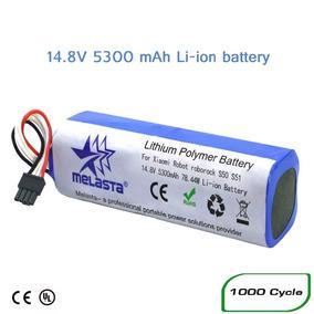 Bateria 14.8 V 5300 Mah Recarregável Para Xiaomi Mijia Robô