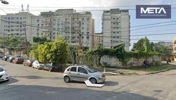 Terreno Para Alugar, 1336 M² - Vila Valqueire - Rio De Janeiro/rj - Te0002