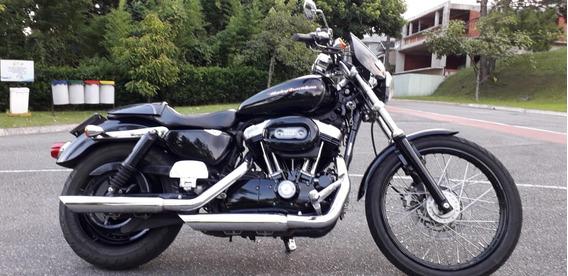 Harley Davidson Sportster 883 Custom - 2007, 37 000km +acess