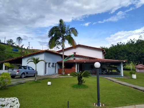 Chácara Com 5 Dormitórios À Venda, 17873 M² Por R$ 1.900.000,00 - Parque Agrinco - Guararema/sp - Ch0049