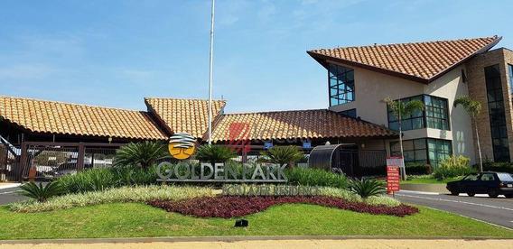 Terreno À Venda, 1149 M² Por R$ 550.000 - Condominio Golden Park Residence - Mirassol/sp - Te0802