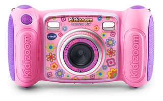 Cámara Fotográfica Vtech Kidizoom, Color Rosa