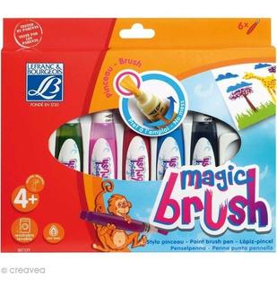 Magic Brush Lefranc & Bourgeois X6 Pinceles Magicos Pintura