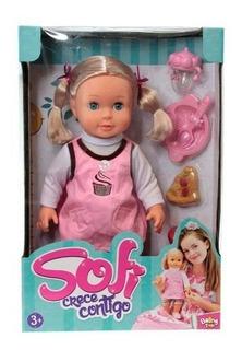 Juguete Muñeca Sofi Crece Contigo Niña Boing Toys