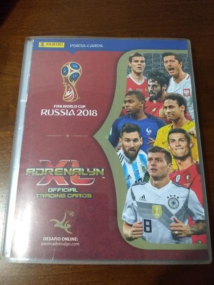562 Card Álbum Panini Copa 2018 Adrenalyn Completo Limited