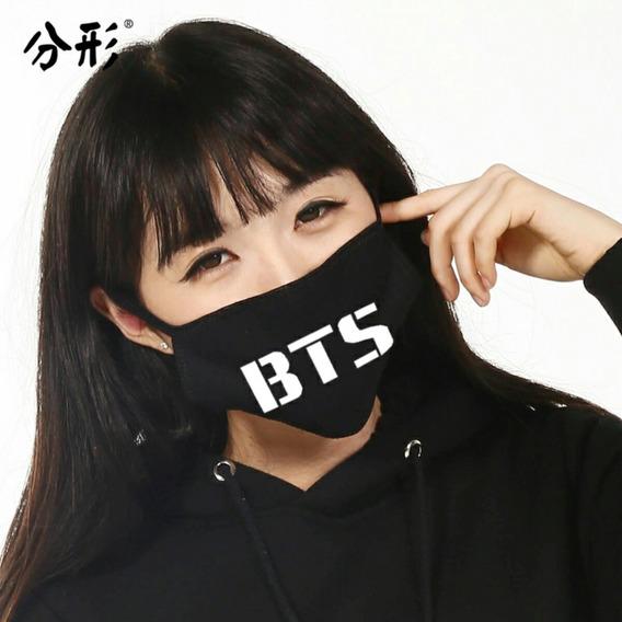 Barbijo Reutilizable Tapabocas Bts Doble Tela K-pop Army 1