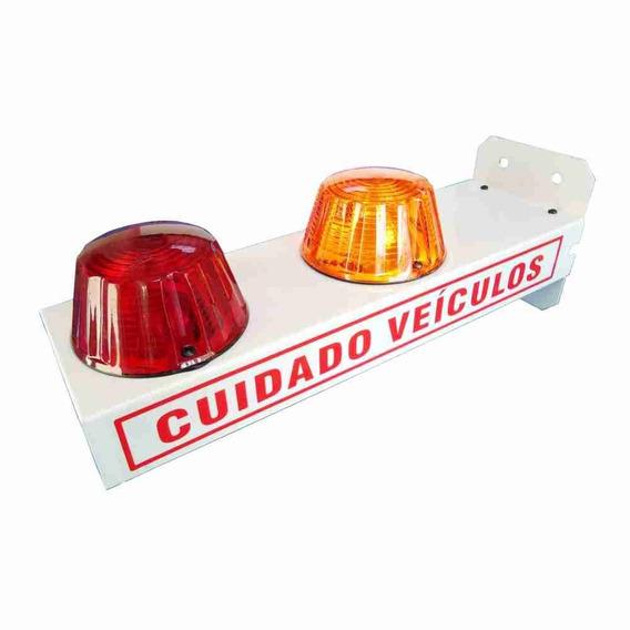 Sinalizador Cuidado Veiculo Sinaleira Luminoso Led - Garagem
