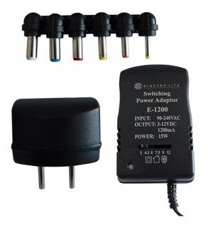 Transformador Adaptador De Voltaje Variable 1.200a