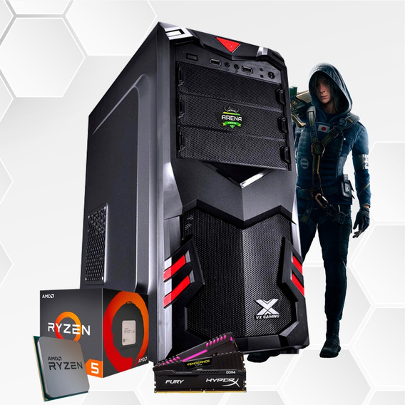 Pc Gamer Arena Owned Ryzen 5 2400g Vega 11 8gb 1tb Hd