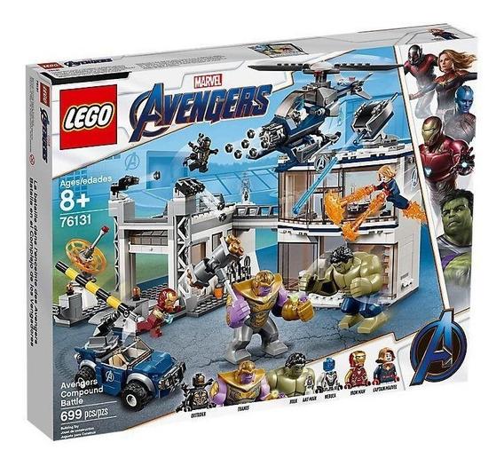 Lego Avengers Batalla En El Complejo De Los Vengadores 76131