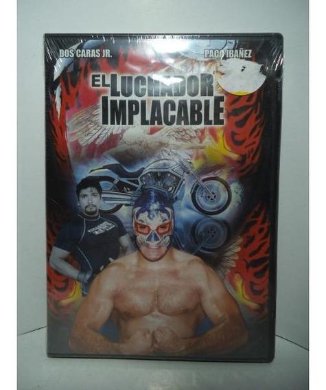 Dos Caras Jr El Luchador Implacable Dvd Lucha Libre