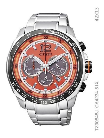 Relógio Cronografo Eco-drive Masculino Citizen Tz30848j