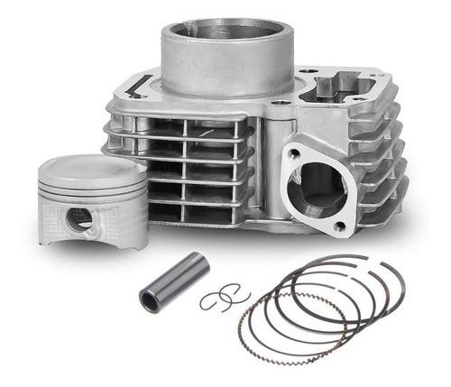 Imagem 1 de 1 de Kit Cilindro Motor Pistão Anéis Cg Titan Fan 125 2002 À 2008