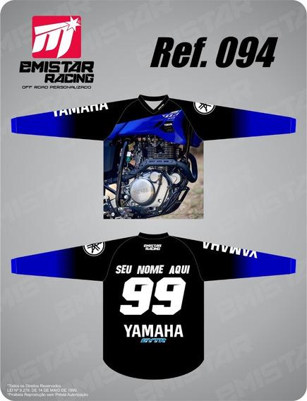 Camiseta Personalizada Motocross, Trilha E Enduro Ttr 230