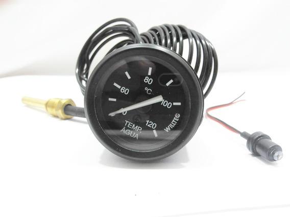 Marcador Mecânico Temperatura Motor Perkins 4 Mts Cabo 52mm