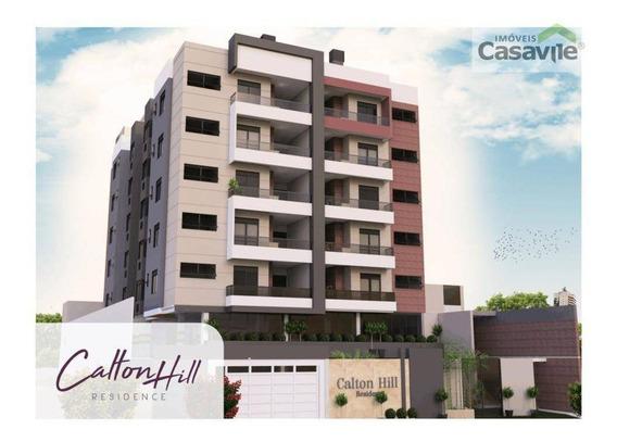 Apartamento Com 3 Dormitórios À Venda, 104 M² - Silveira Da Motta - São José Dos Pinhais/pr - Ap0419