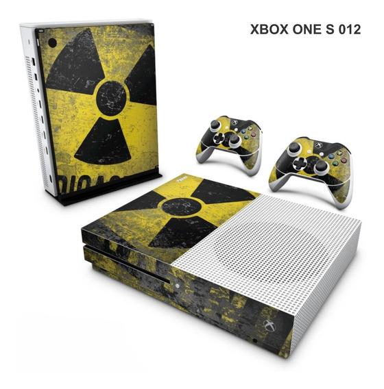 Skin Adesiva Para Xbox One S (slim) - Radiação