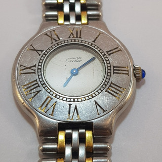Reloj Cartier Must 21 31mm Sin Funcionar Local A La Calle