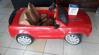 Carrito Electrico Mustang De Niños Con Pila Nueva Funcionan