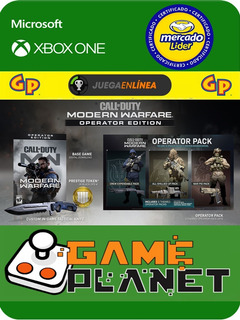 Call Of Duty M.w Deluxe Xbox One Modo Local + En Linea