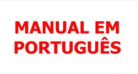 Manual Em Português Canon Vixia Hf-s20, Hf-s21 E Hf-s200