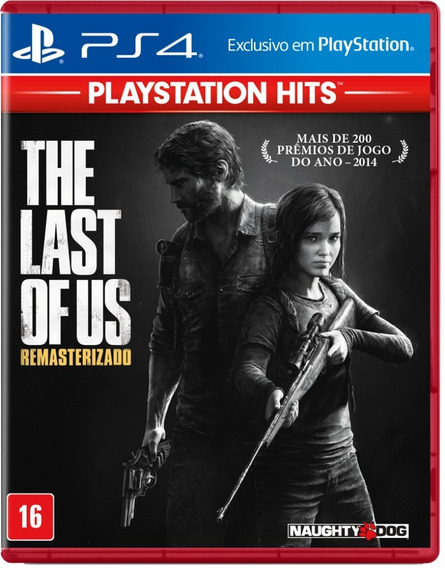 Jogo The Last Of Us Ps4 Hits Mídia Física Dlc + Brinde